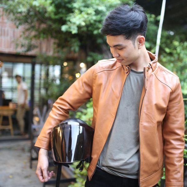 Áo da thuộc / Leather jacket