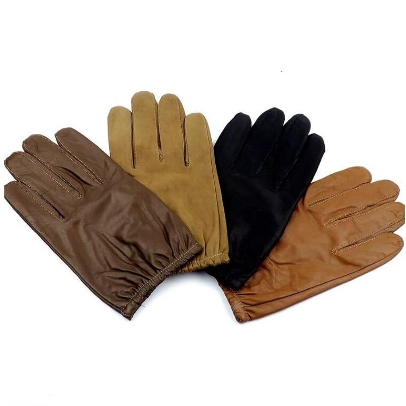 Những màu sắc phổ biến găng tay da bò