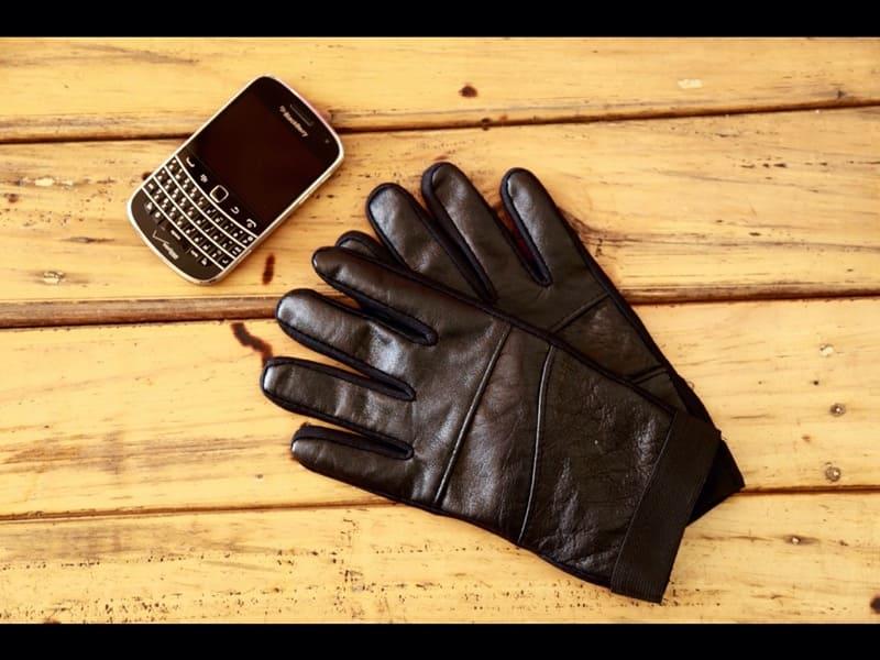 Găng tay da nam thật cao cấp