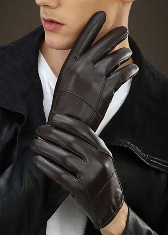 Găng tay da thật Bulltino