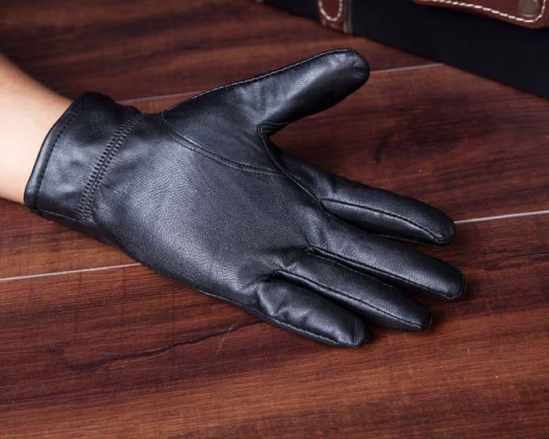 Găng tay da bò