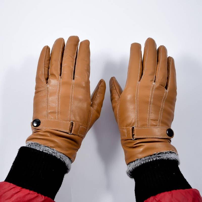 Găng tay da bò bền chắc chắn