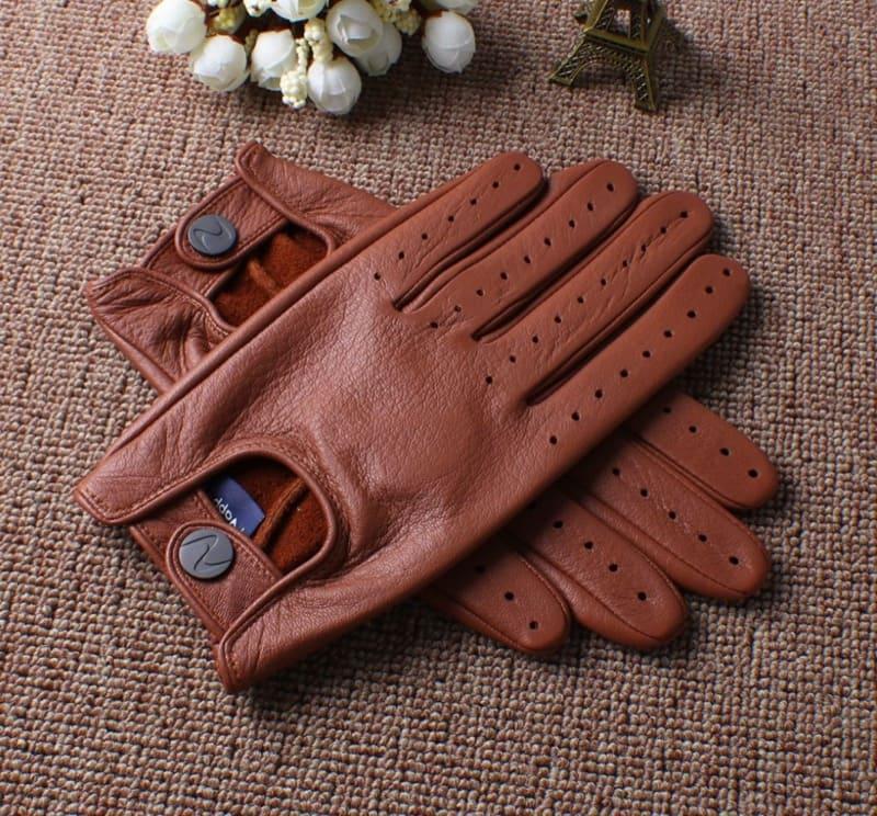 Găng tay da thật dành cho nam