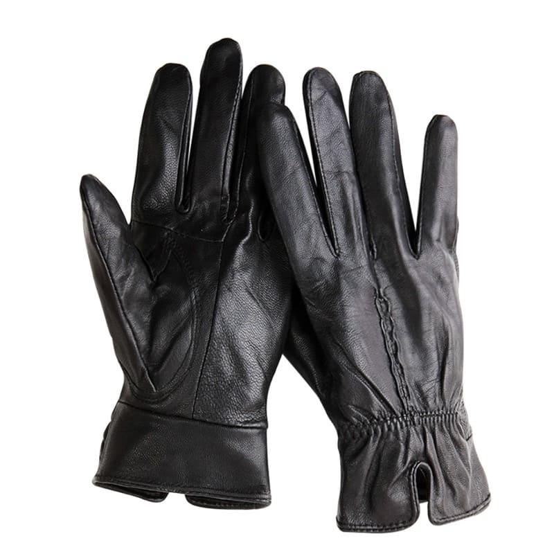Găng tay da thật có độ co giãn và mềm mại