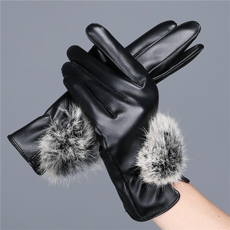 Mẫu găng tay da nữ đẹp