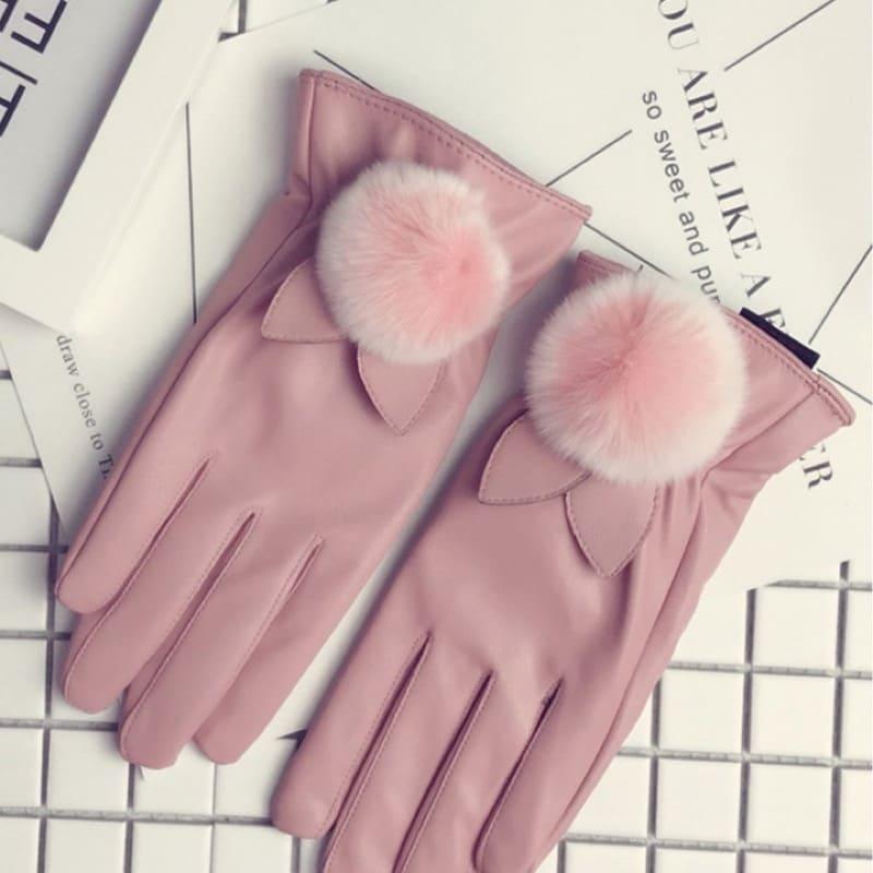 Găng tay da nữ đẹp da cừu