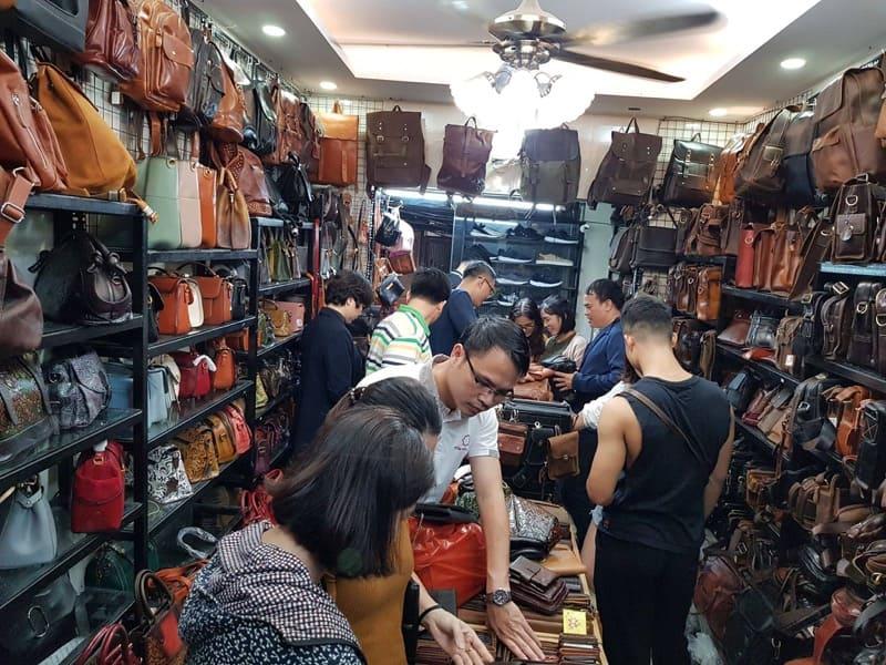 Cửa hàng đồ da thật handmade tại Hà Nội