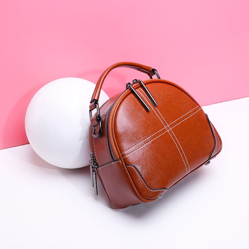 Túi xách nữ mini da bò