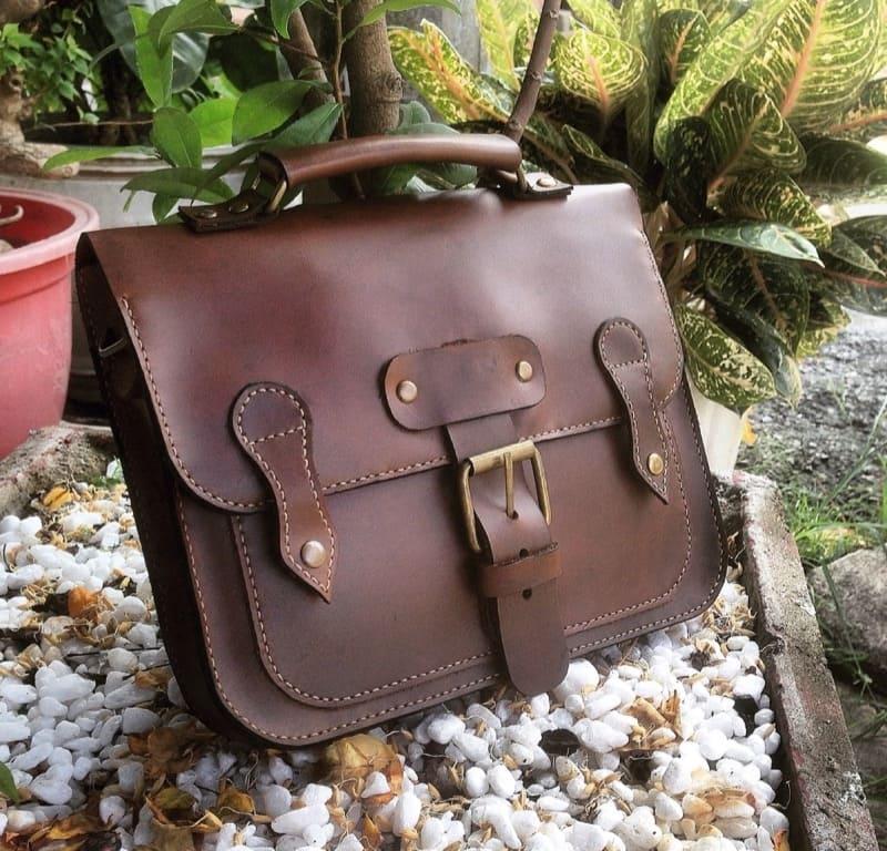 Túi xách da bò handmade cao cấp