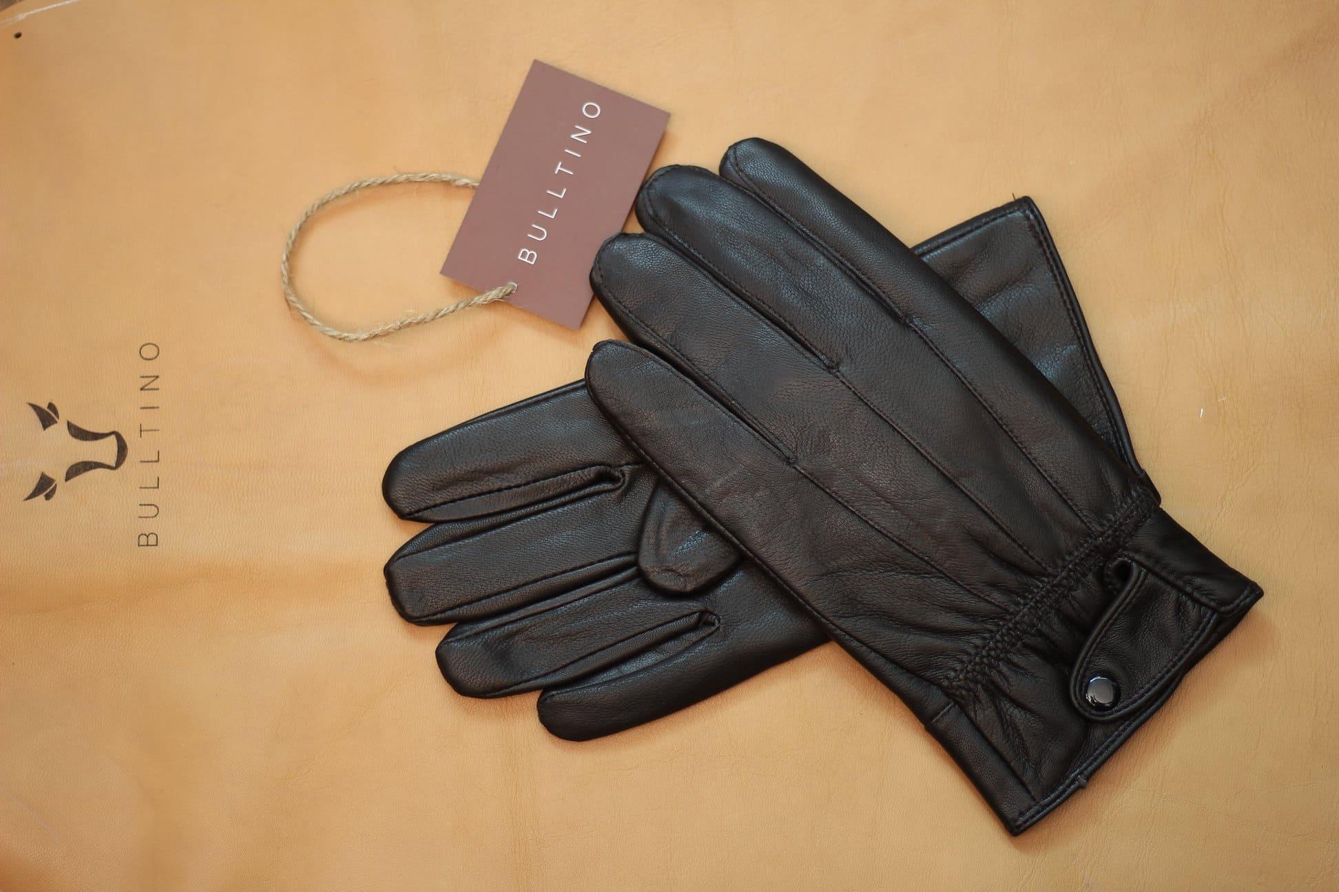 Mẫu găng tay nam đẹp da thật