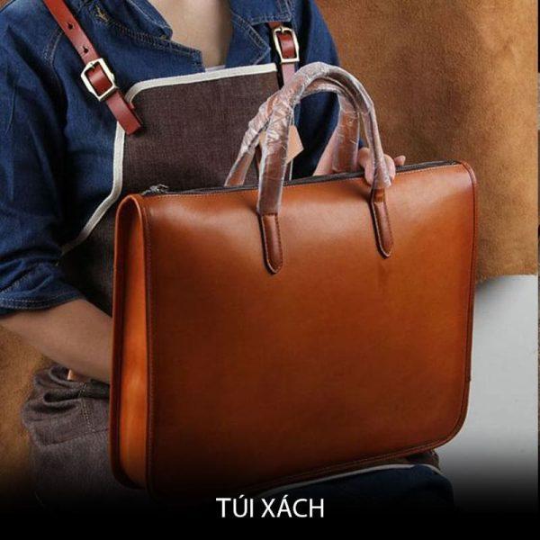 Túi xách da / leather bag