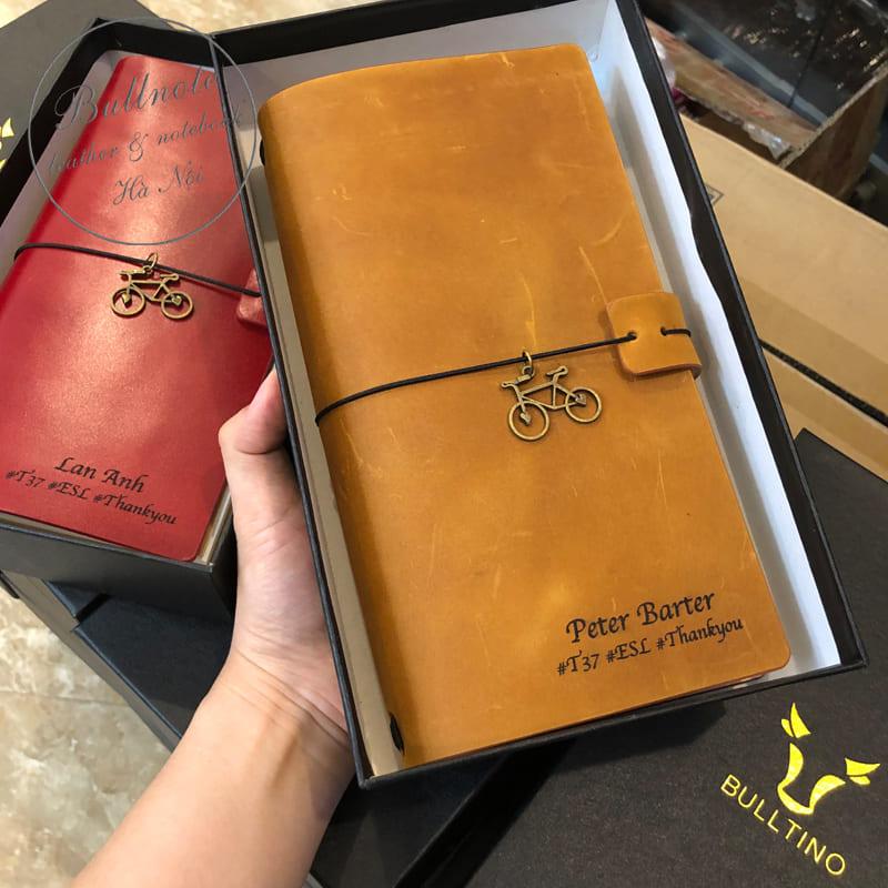 Sổ tay Midori màu vàng bò
